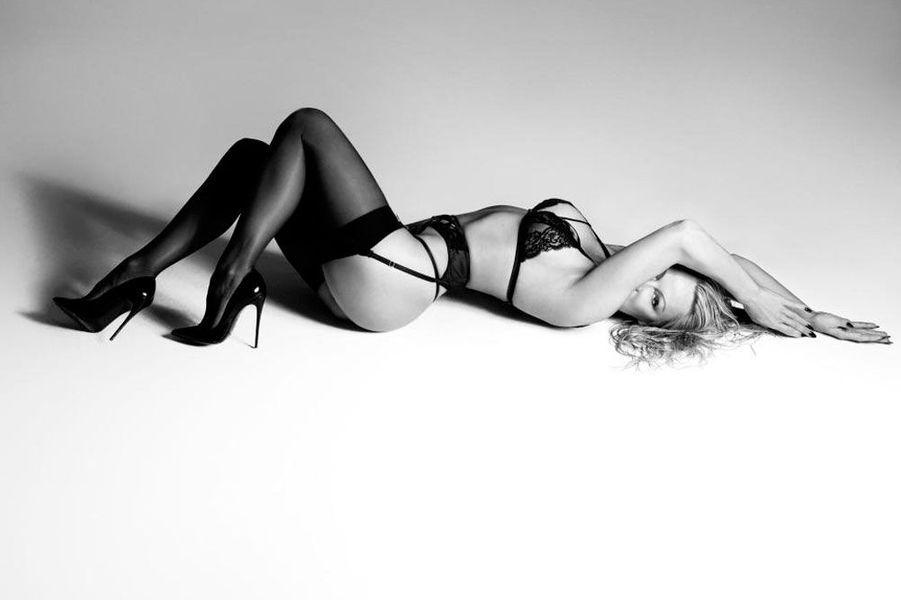 Pamela Anderson pour la marque de lingerieCoco de Mer