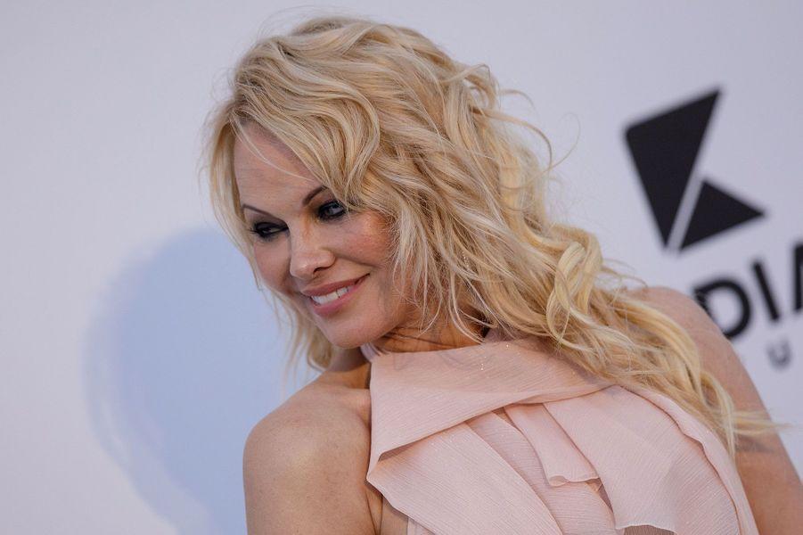 Pamela Anderson à Cannes jeudi