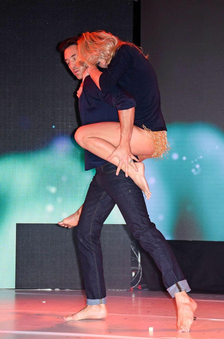 Pamela Anderson et Maxime Dereymez