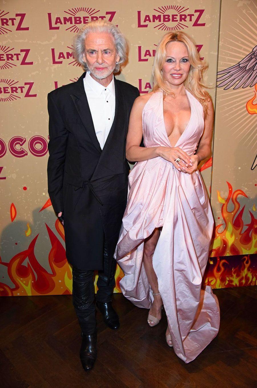 Hermann Bühlbecker et Pamela Anderson