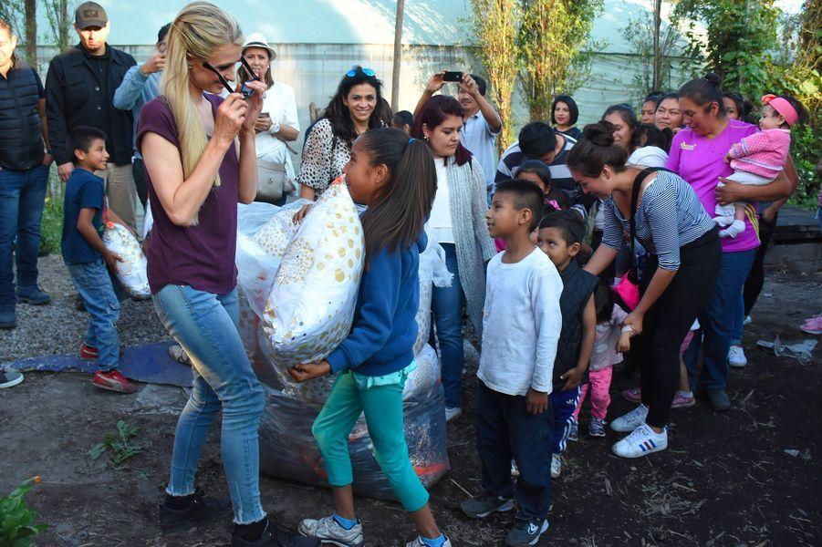 Paris Hilton à San Gregorio, au Mexique, lundi 12 novembre 2018