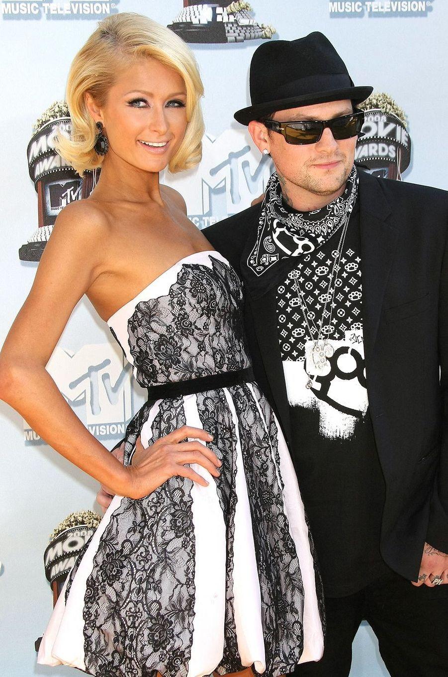 Paris Hilton et le musicien Benji Madden sont sortis ensemble pendant environ neuf mois en 2008