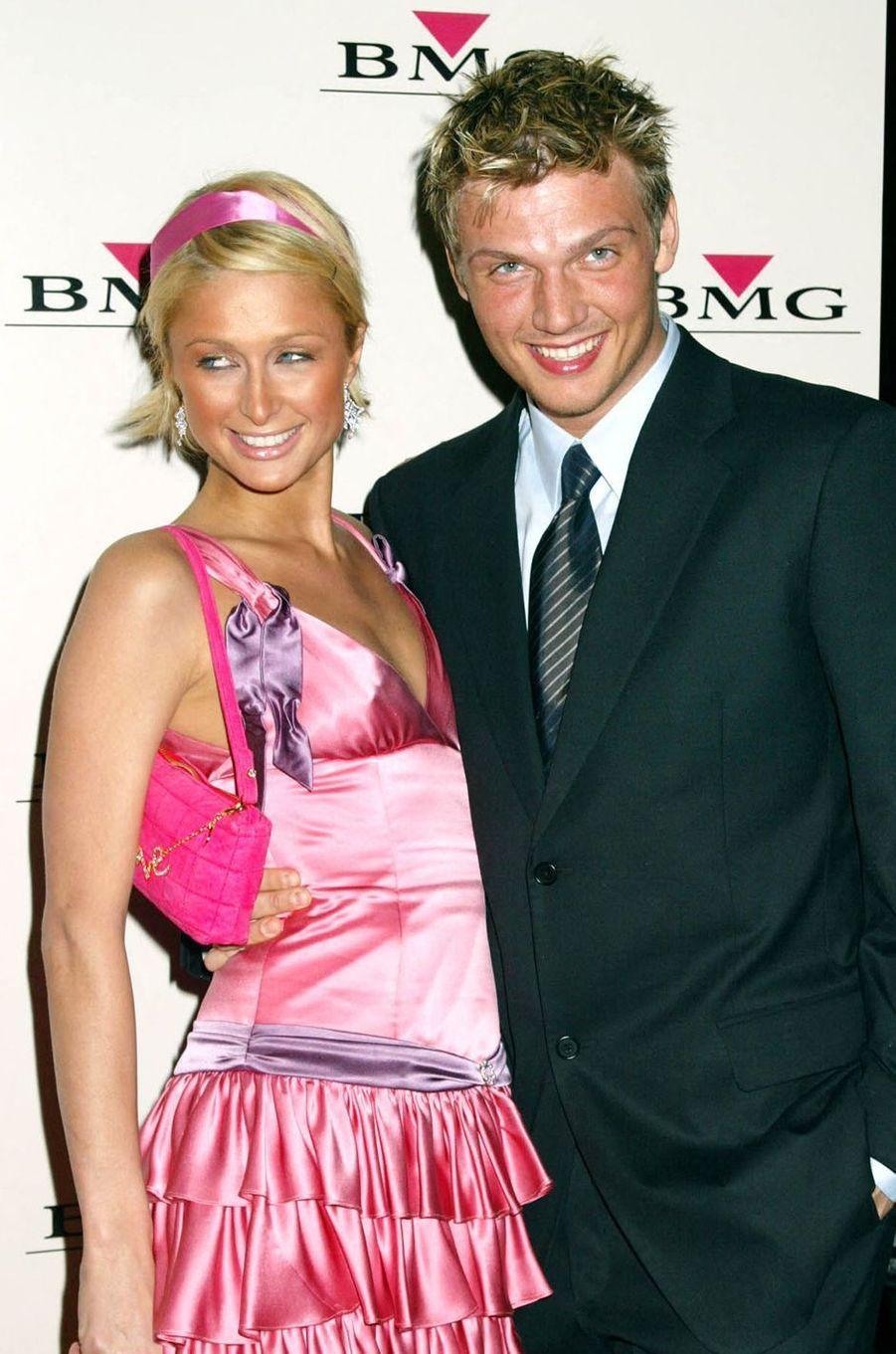Paris Hilton et Nick Carter (chanteur des Backstreet Boys) ont eu une relation de sept mois en 2004