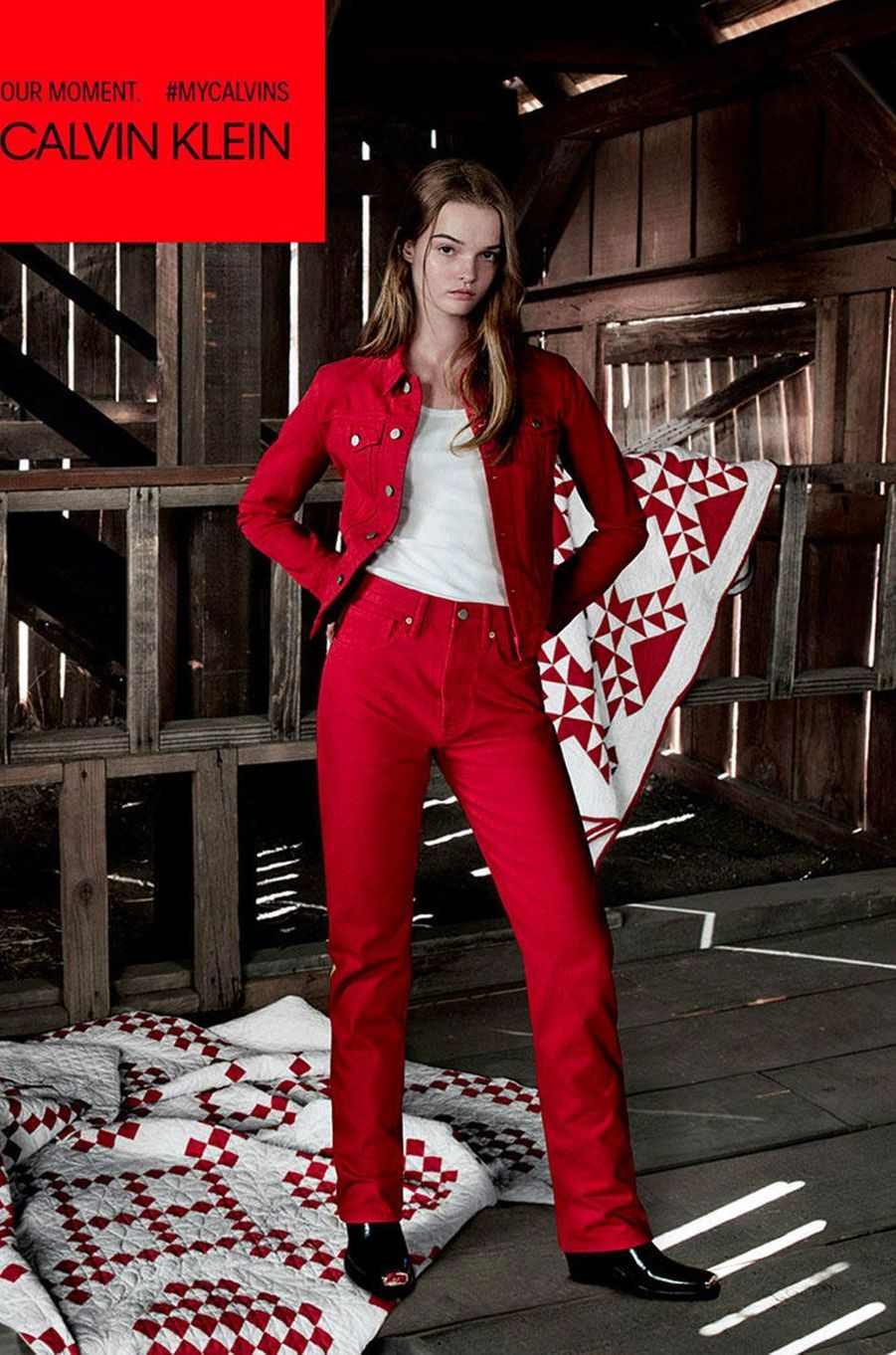 Lulu Tenney pour Calvin Klein