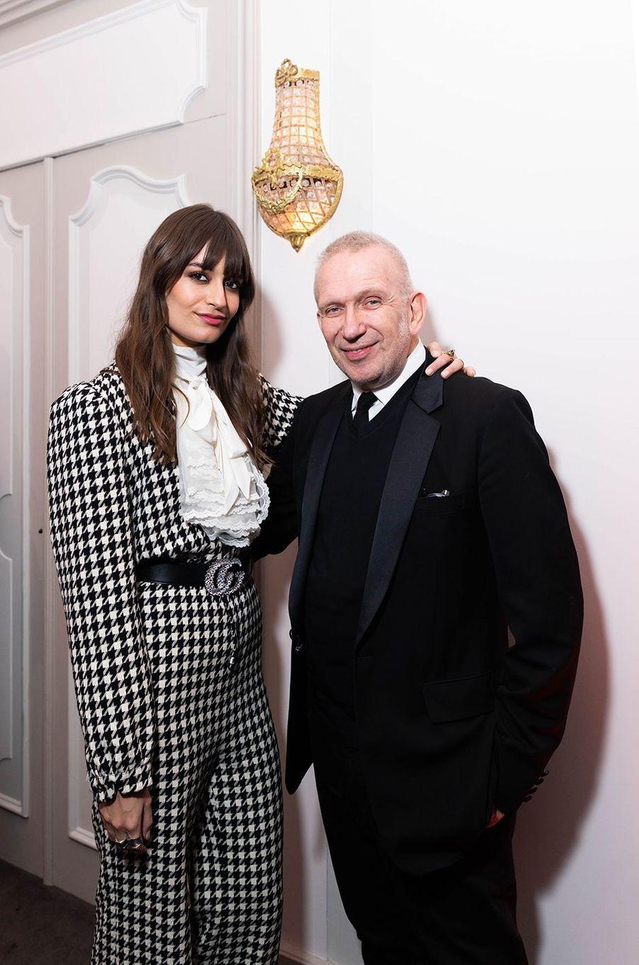 Clara Luciani et Jean Paul Gaultier