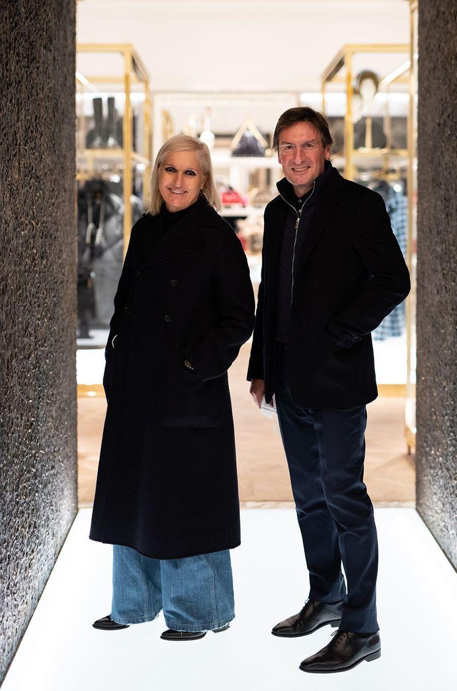 Maria Grazia Chiuri et Pietro Beccarijpg