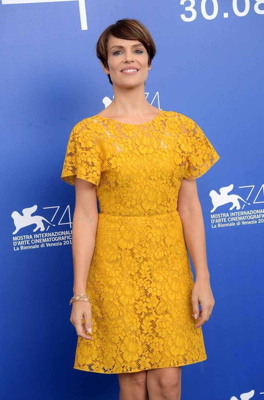 L'actrice italienne Micaela Ramazzotti