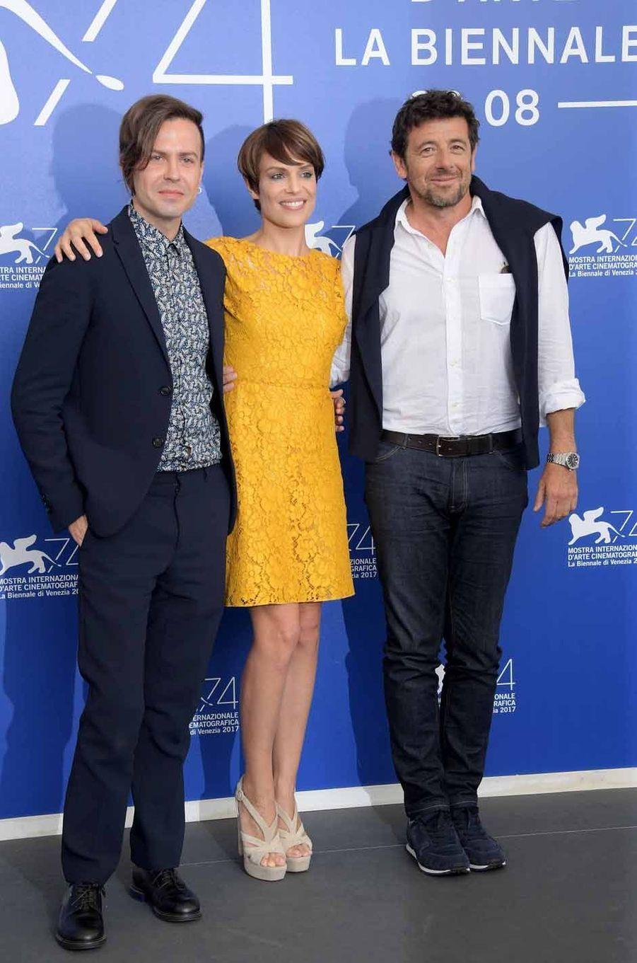 L'équipe du film «Una Famiglia».