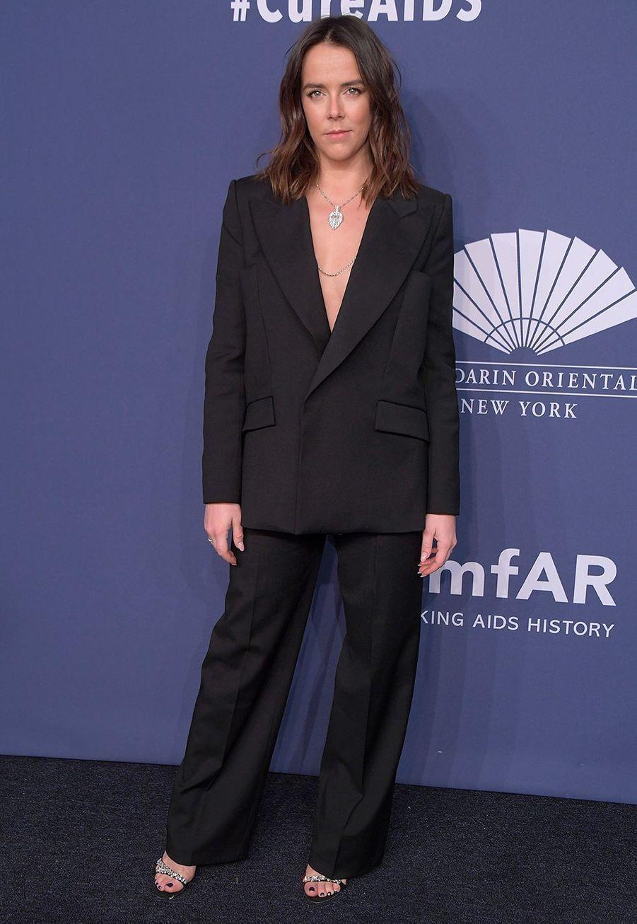 Pauline Ducruet au gala de l'amfAR à New York le 5 février 2020