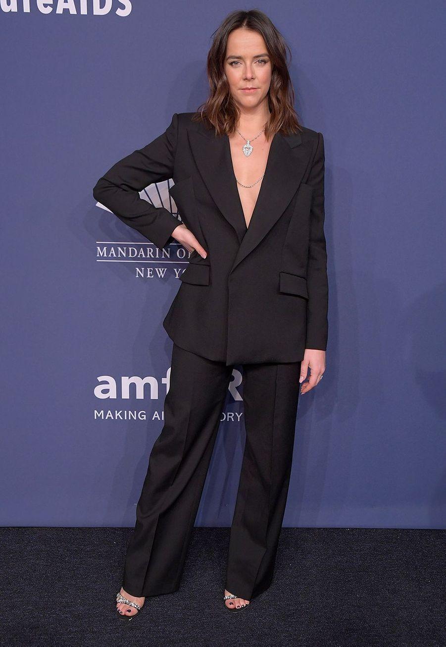 Pauline Ducruetau gala de l'amfAR à New York le 5 février 2020