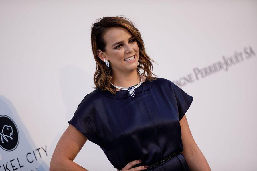 Pauline Ducruet lors du gala de l'amfAR 2019 à Cannes
