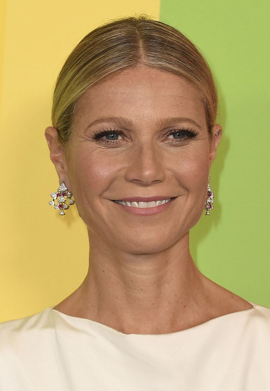 Gwyneth Paltrow au gala de l'amfAR à Los Angeles le 10 octobre 2019