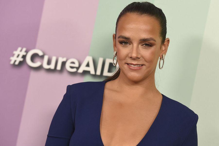 Pauline Ducruetau gala de l'amfAR à Los Angeles le 10 octobre 2019
