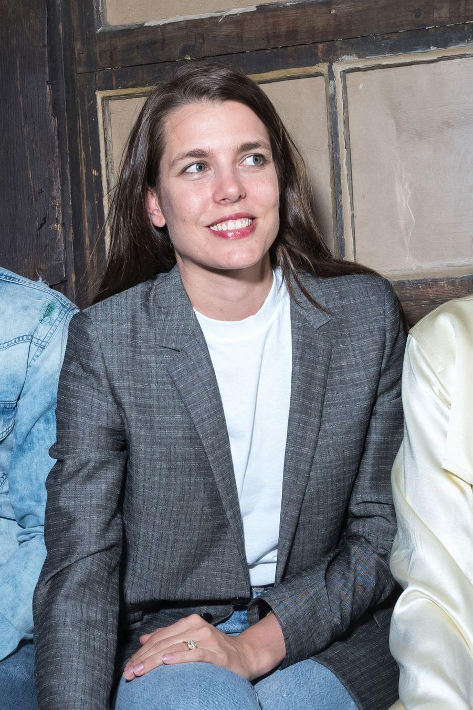 Charlotte Casiraghiau défilé Alter à Paris le 18 juin 2019.