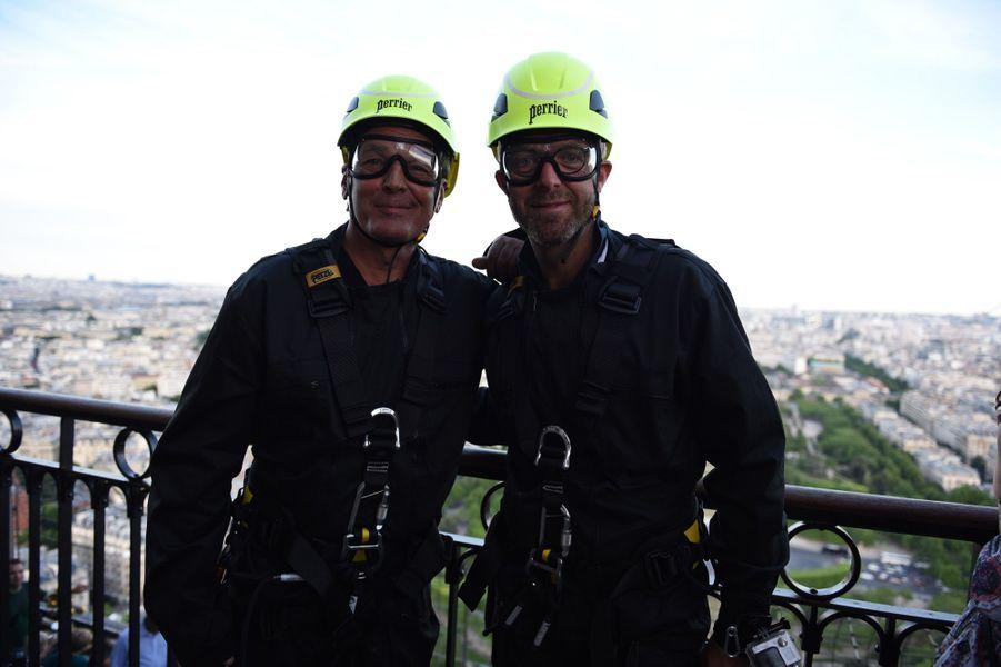 Laurent Baffie et Alexandre Delperier.