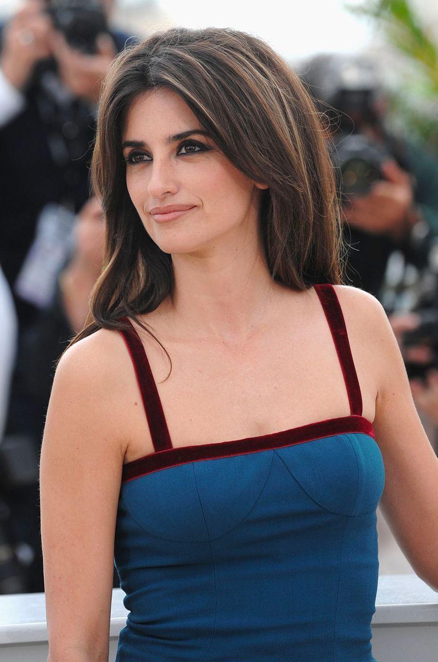 Penélope Cruz au Festival de Cannes en 2008