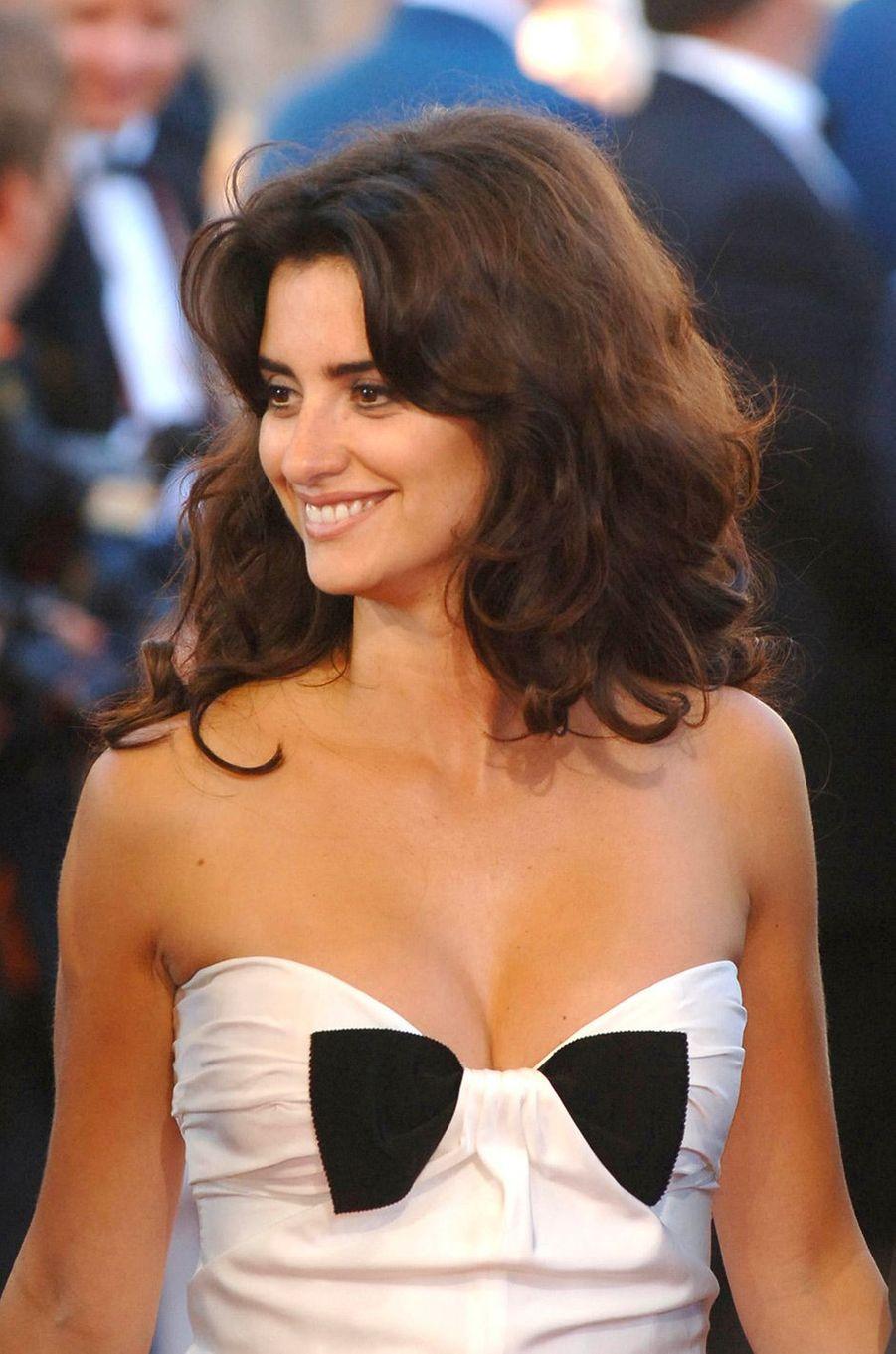 Penélope Cruz au Festival de Cannes en 2006