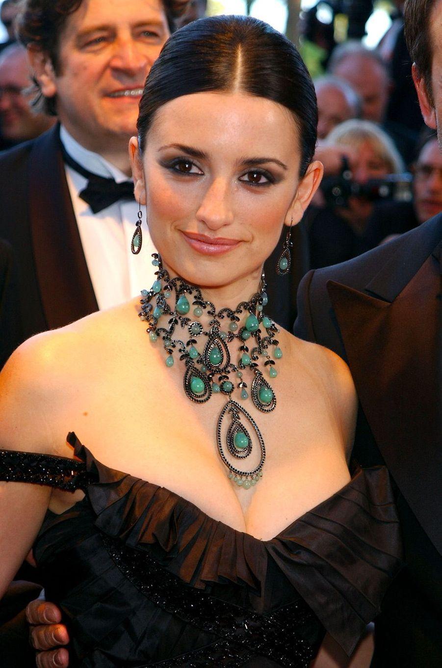 Penélope Cruz au Festival de Cannes en 2003