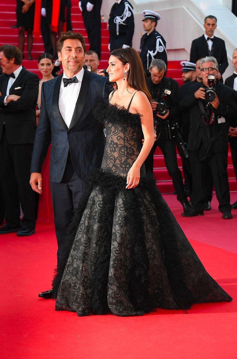Penélope Cruz avec Javier Bardem au Festival de Cannes en 2018