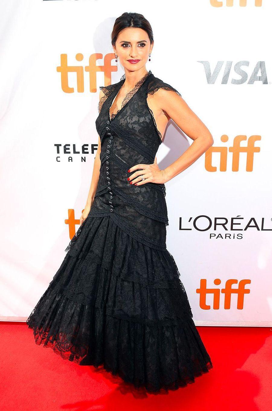 """Penélope Cruz présente """"Everybody Knows"""" d'Asghar Farhadi au festival de Toronto, samedi 8 septembre"""