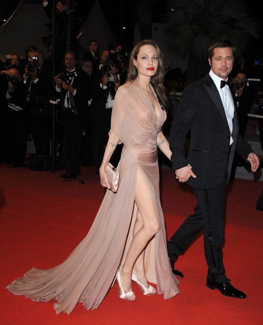 Angelina Jolie lors du Festival de Cannes, le 20 mai 2009