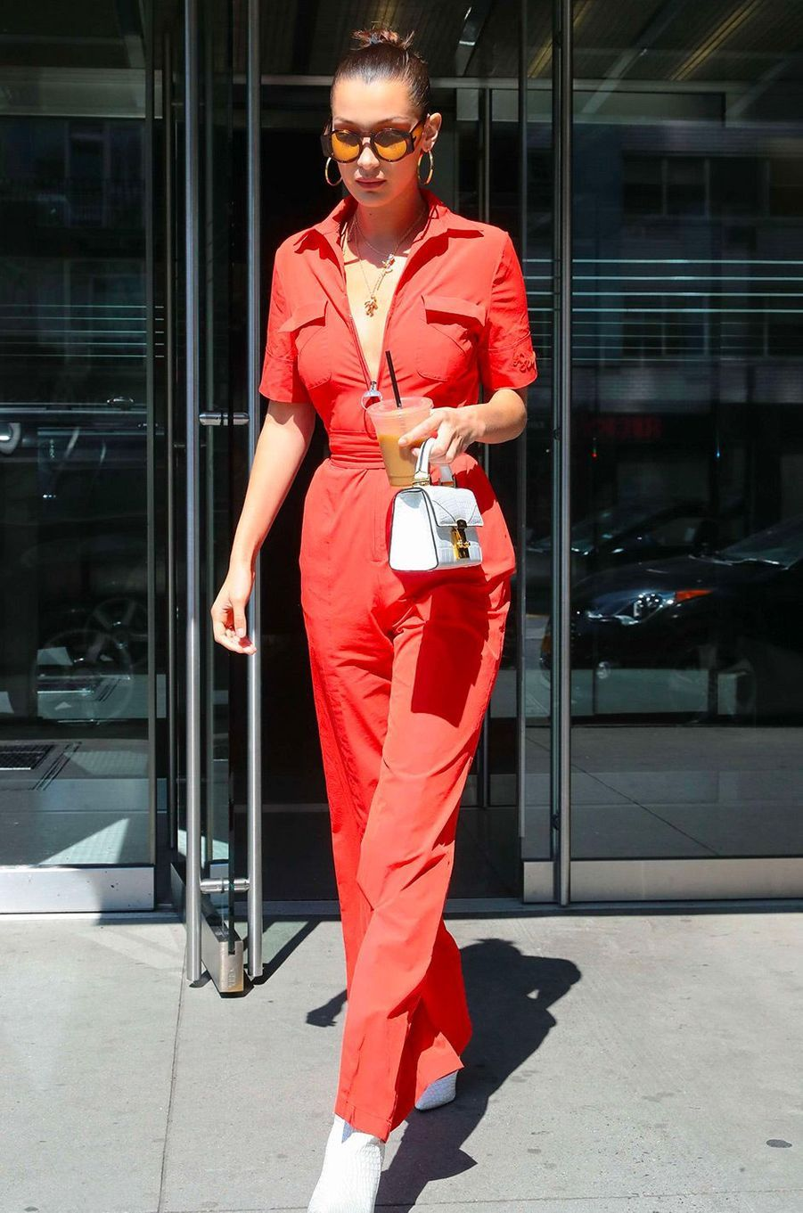 Bella Hadid en août 2017