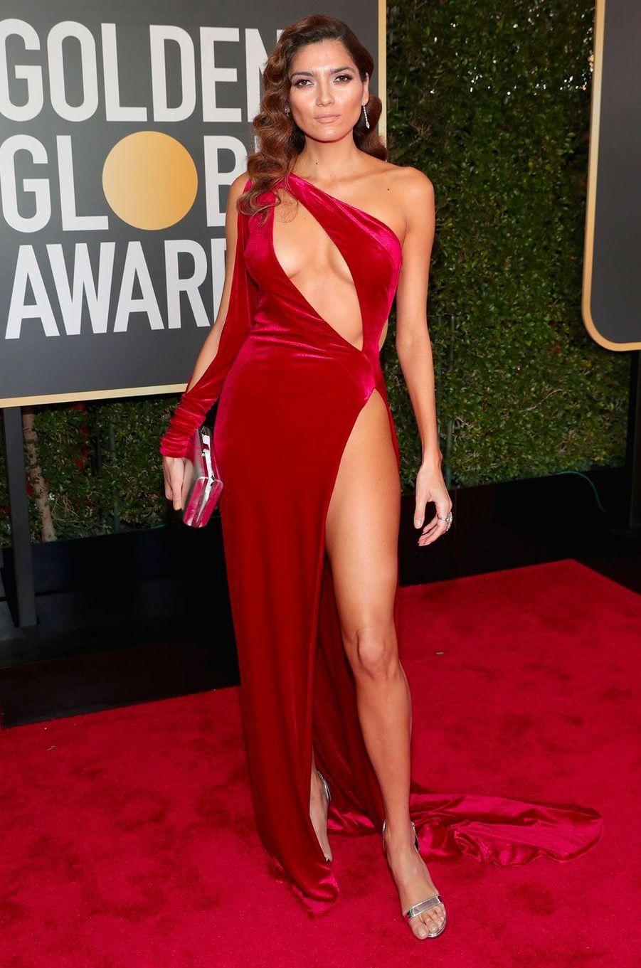 Blanca Blanco aux Golden Globes