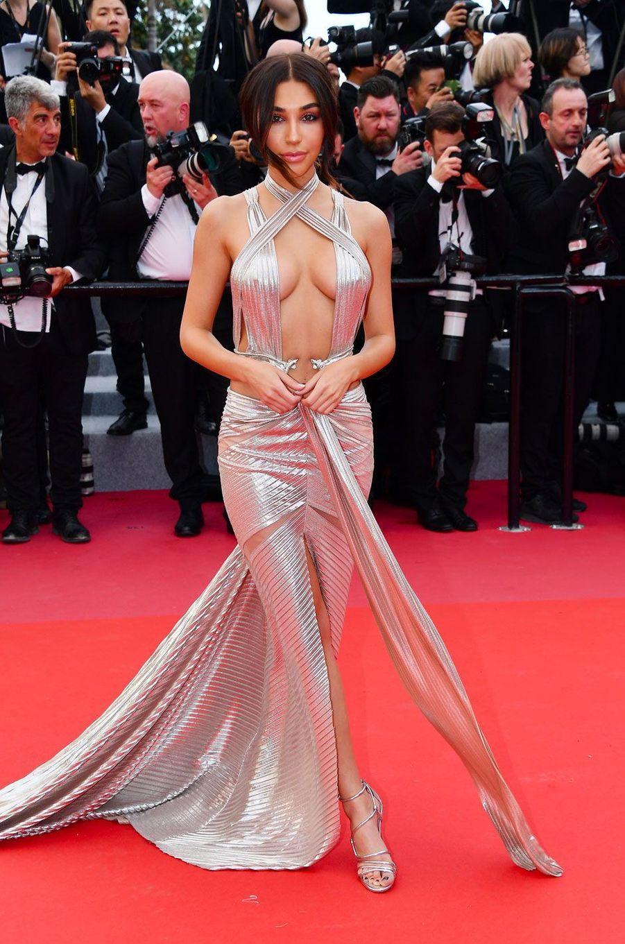 Chantel Jeffries à la cérémonie d'ouverture du 71ème Festival de Cannes