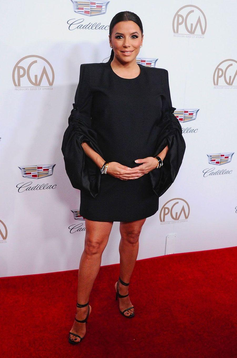 Eva Longoria le 20 janvier 2018