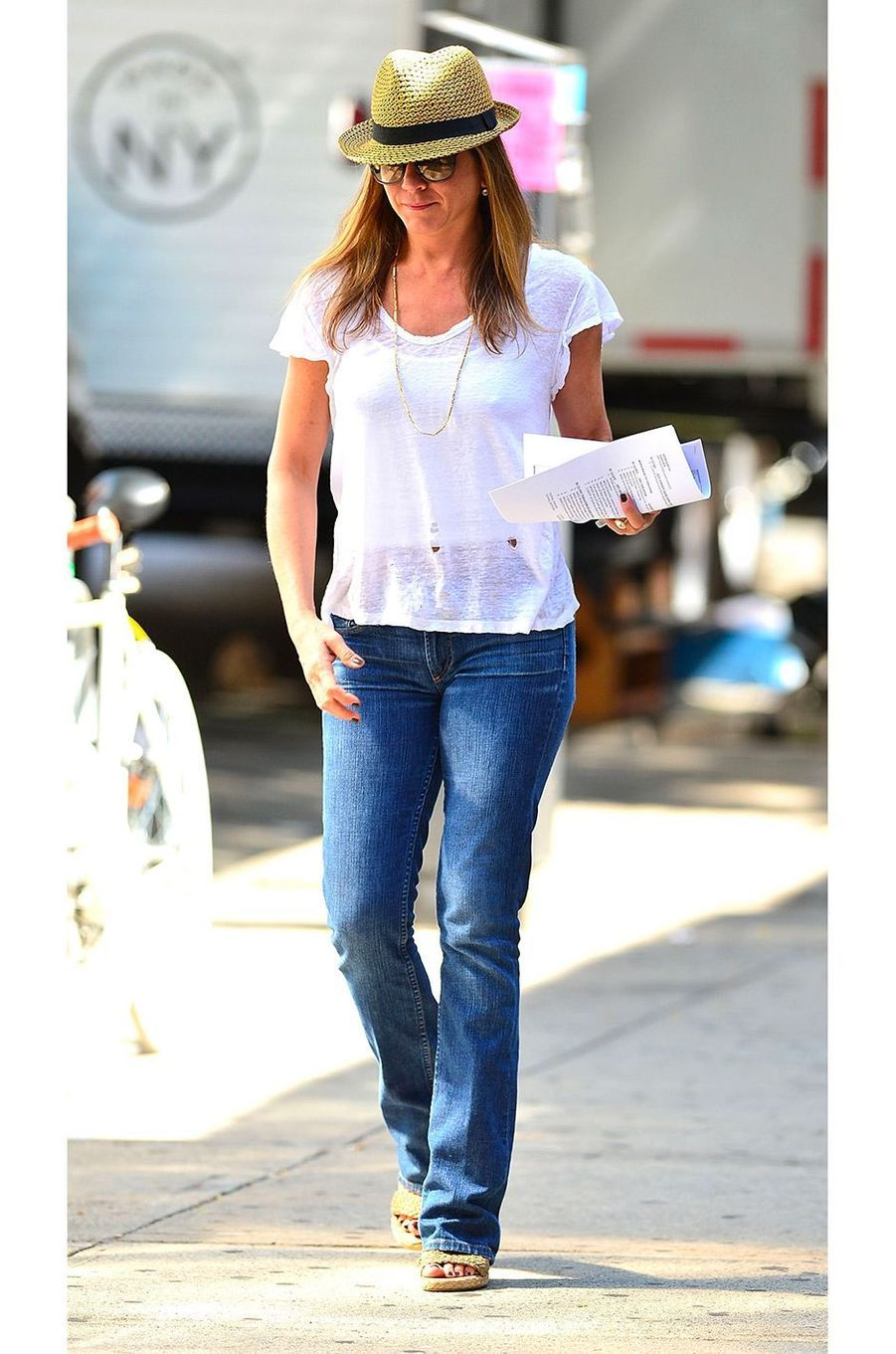 Jennifer Aniston en juillet 2013