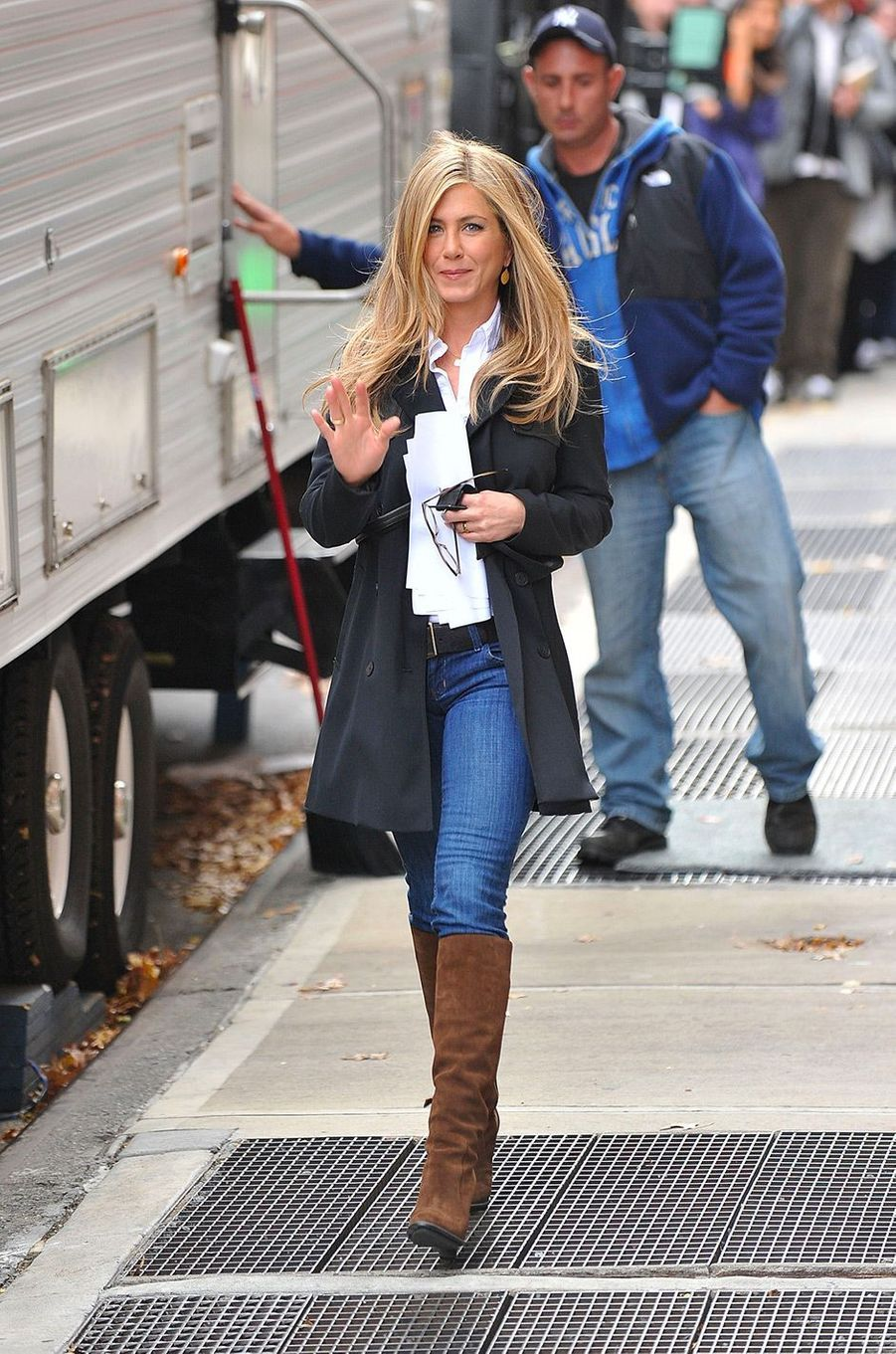 Jennifer Aniston en novembre 2010