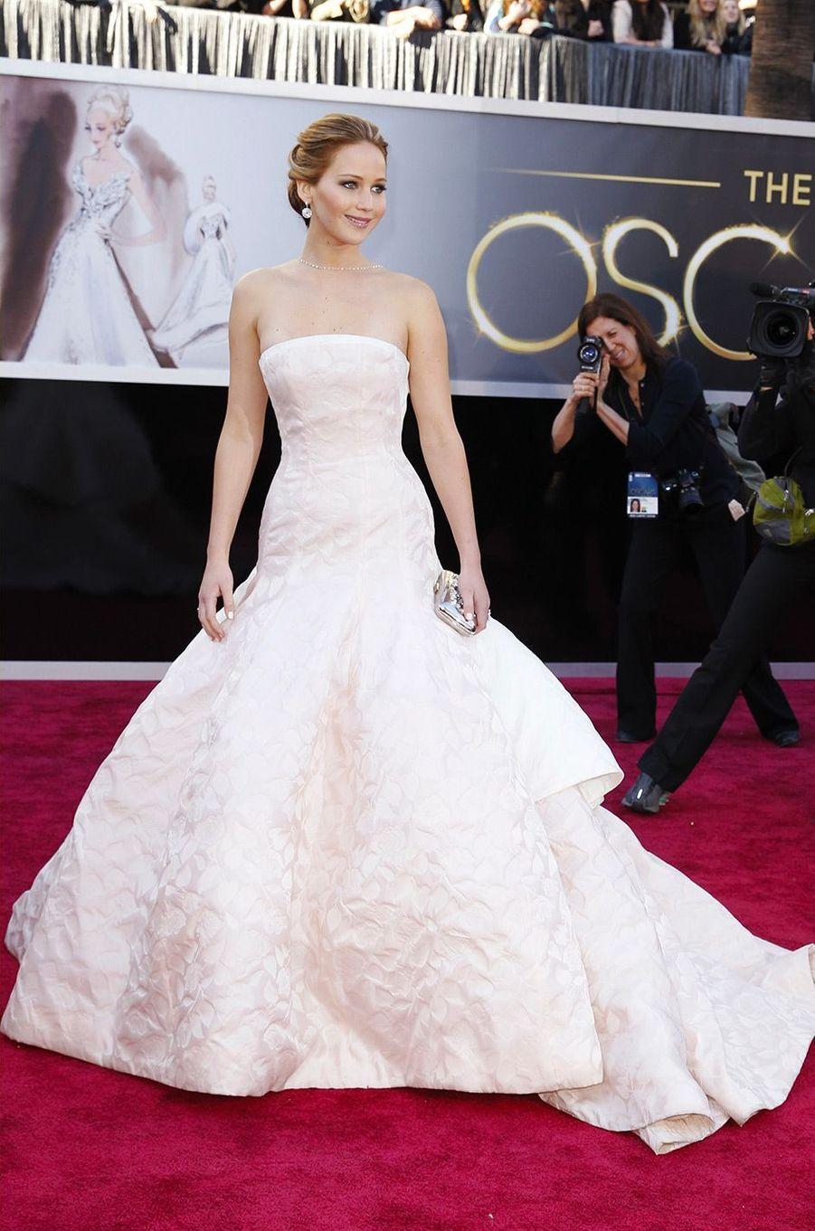 Jennifer Lawrence le 25 février 2013