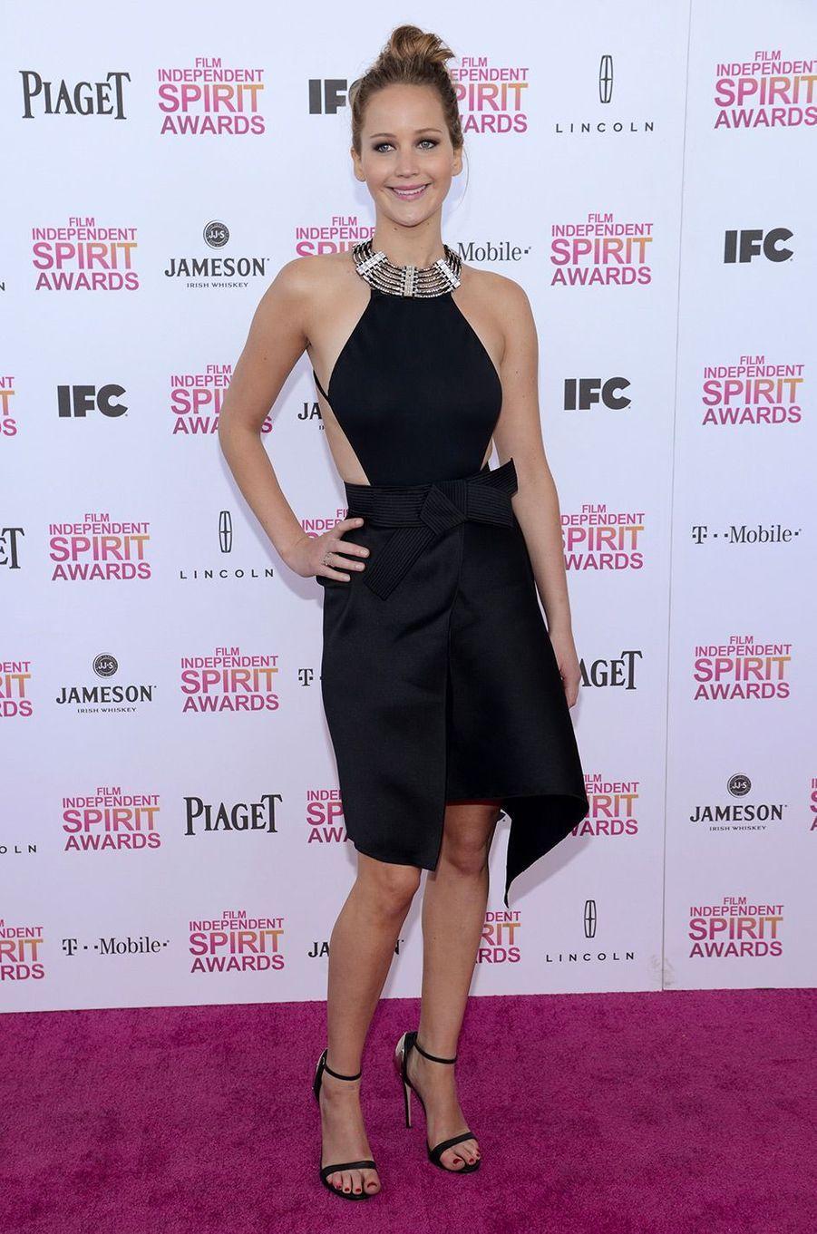 Jennifer Lawrence le 23 février 2013