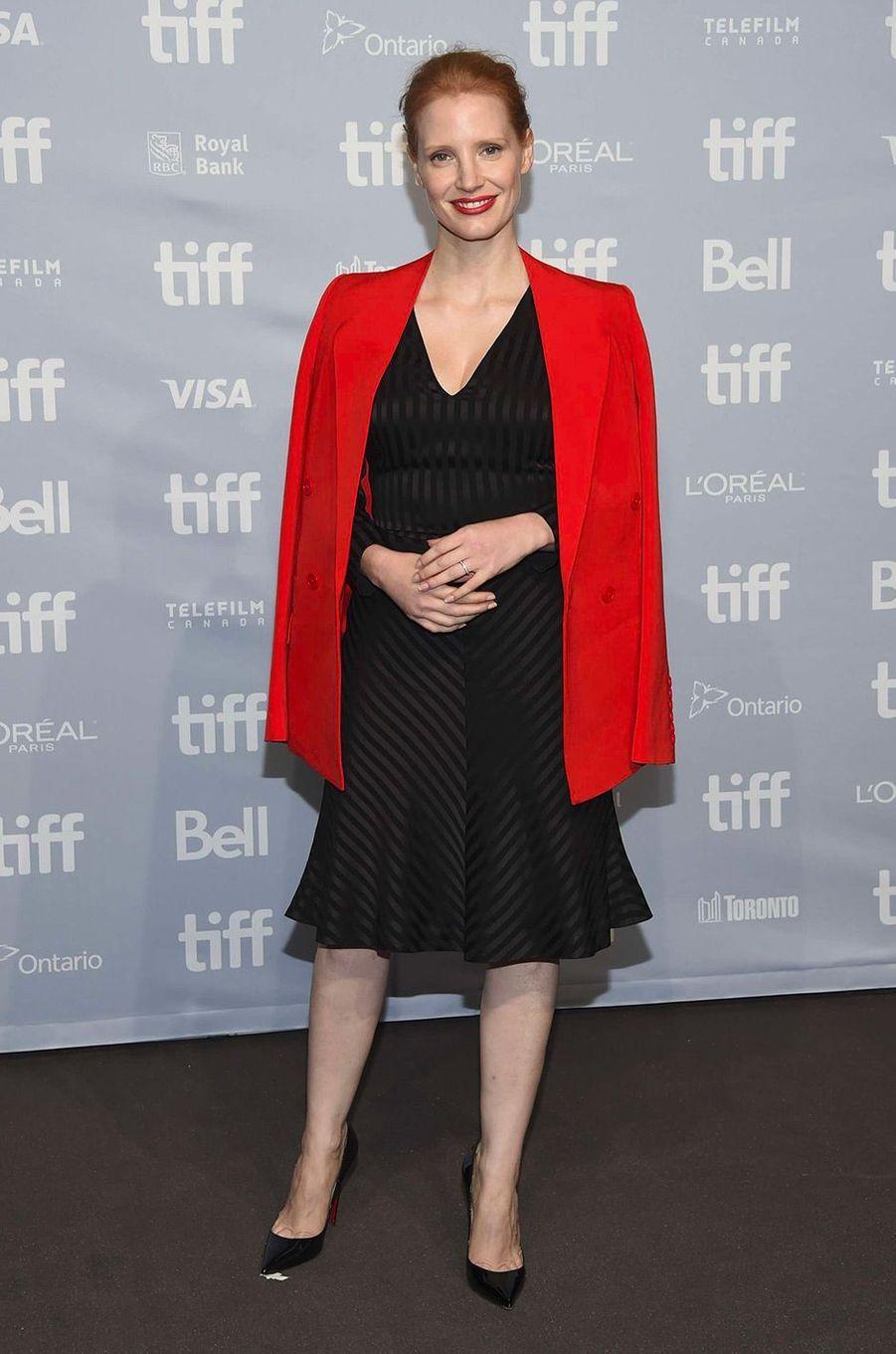 Jessica Chastain en septembre 2017