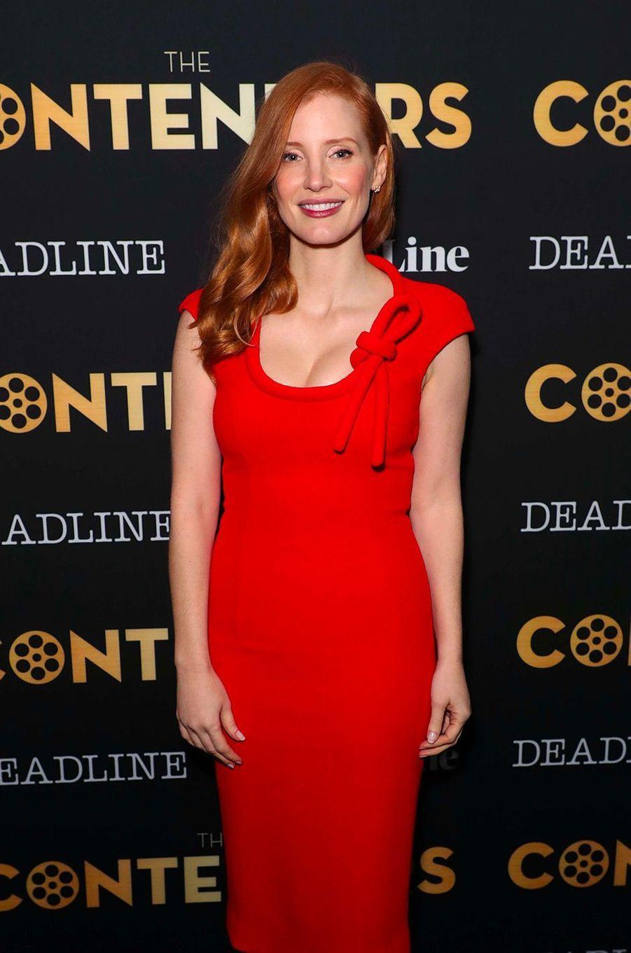 Jessica Chastain en novembre 2017