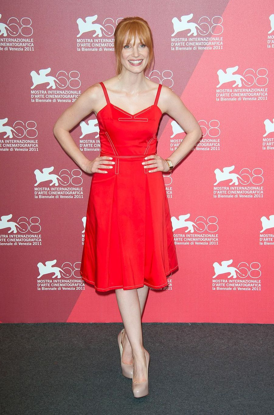 Jessica Chastain en septembre 2011