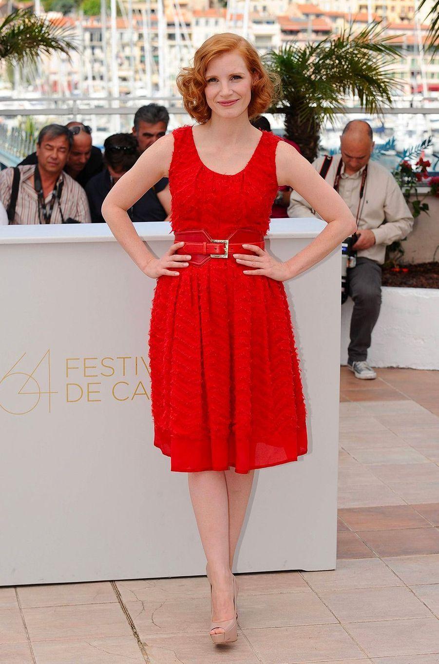 Jessica Chastain en mai 2011