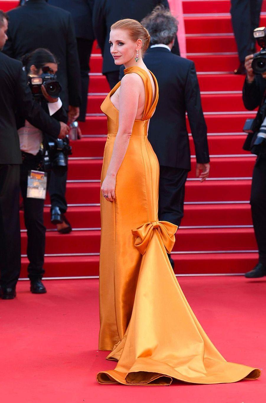 Jessica Chastain en mai 2017