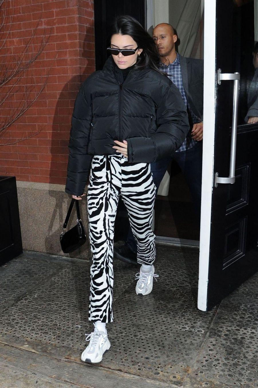 Kendall Jenner à New York, le 11 février 2019