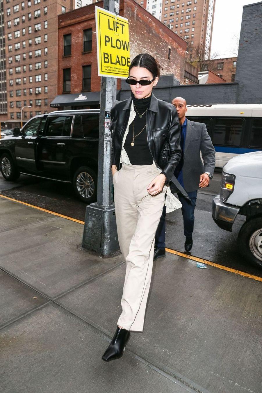 Kendall Jenner à New York, le 8 février 2019