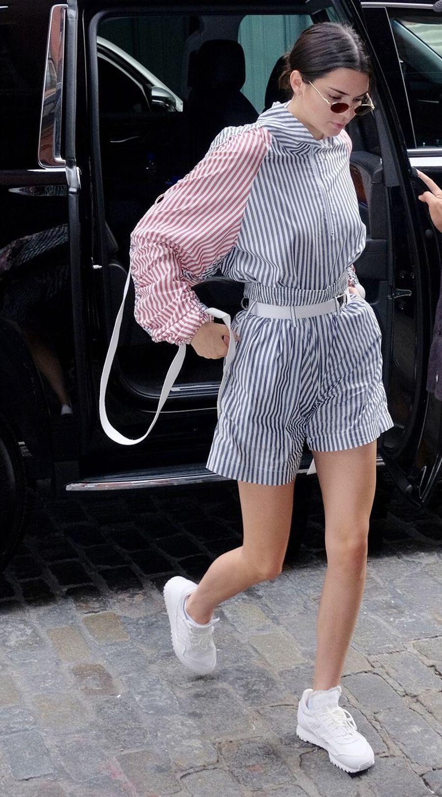 Kendall Jenner à Manhattan, le 28 juillet 2017