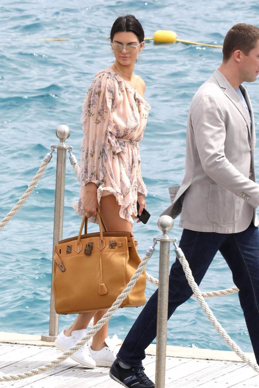 Kendall Jenner à Cannes, le 22 mai 2017