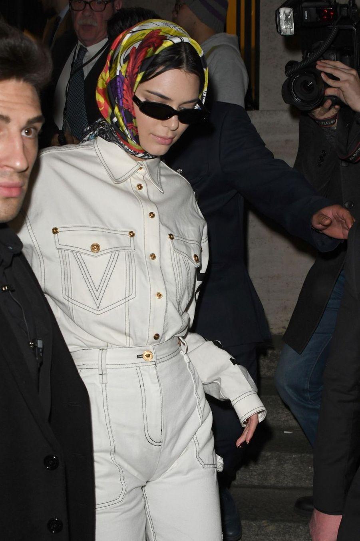 Kendall Jenner à Milan, le 22 février 2019