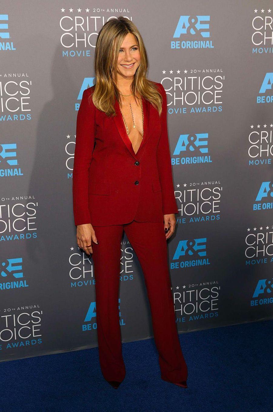 Jennifer Aniston, le 15 janvier 2015