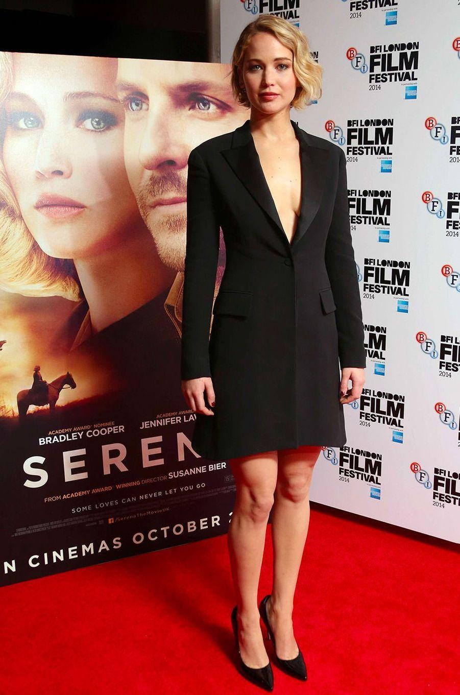 Jennifer Lawrence, le 13 octobre 2014