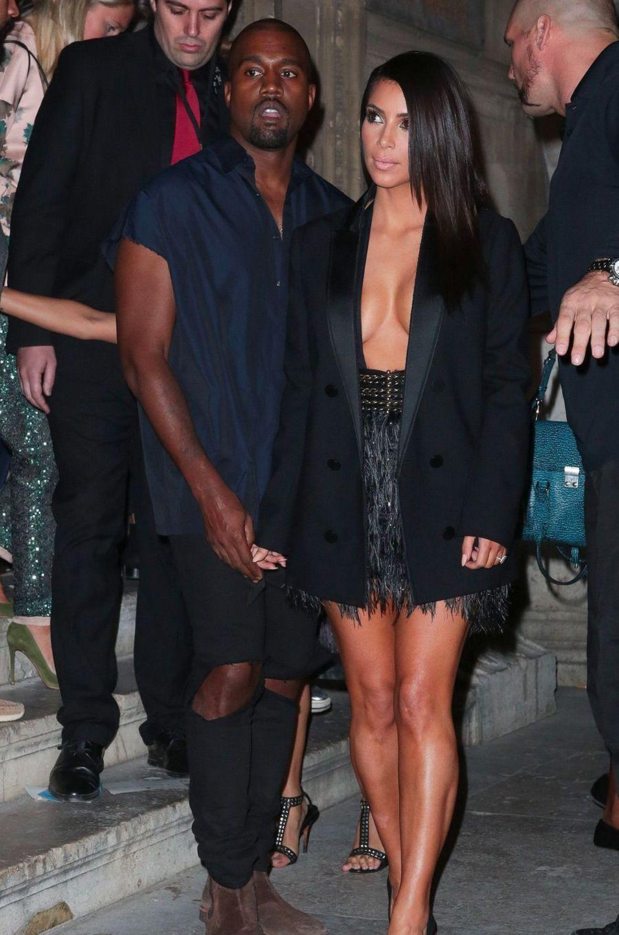 Kim Kardashian, le 25 septembre 2014
