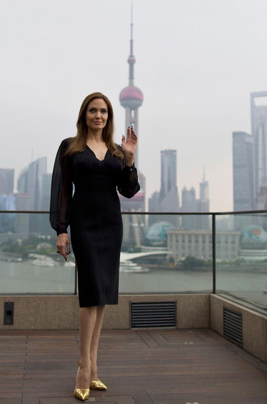 Angelina Jolie en juin 2014