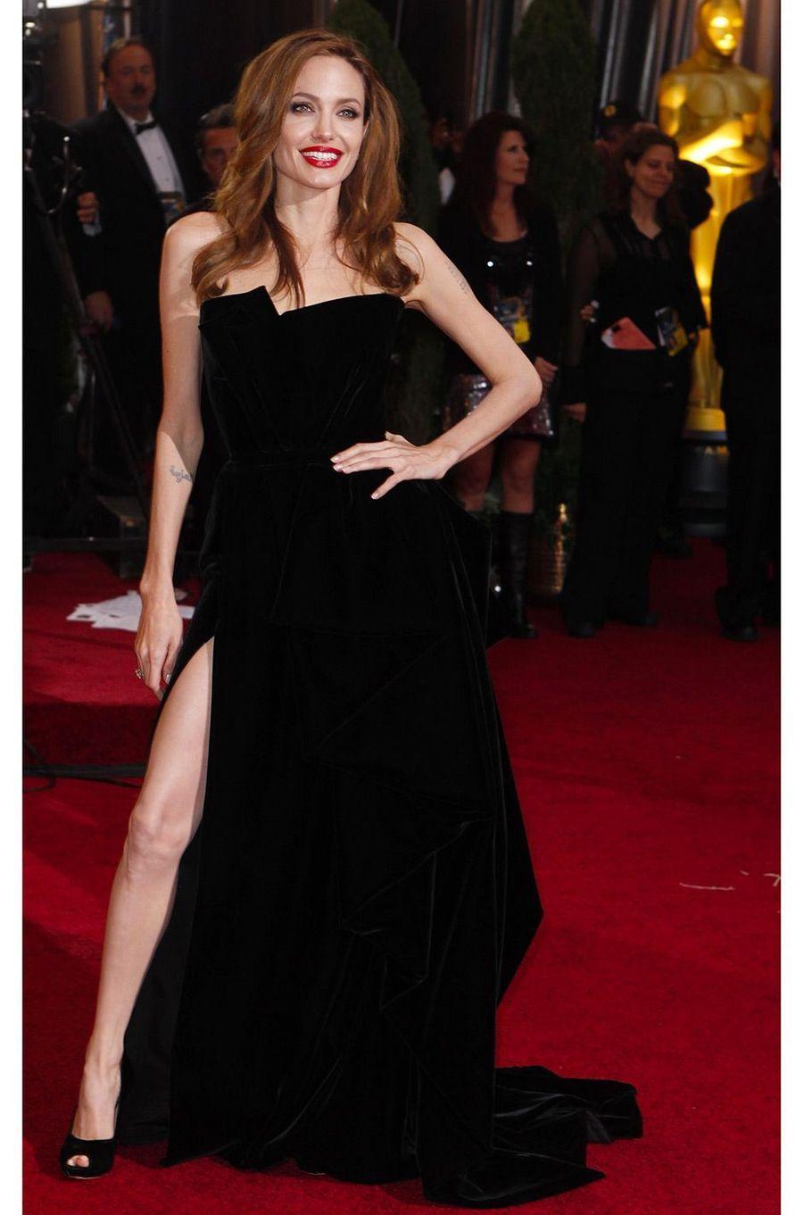 Angelina Jolie en février 2012