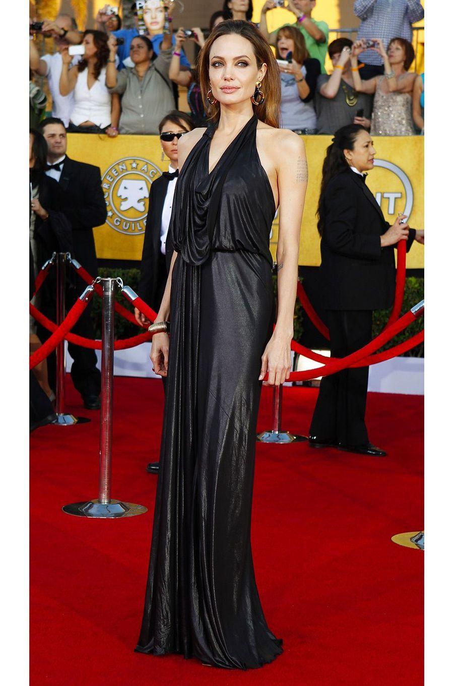Angelina Jolie en janvier 2012