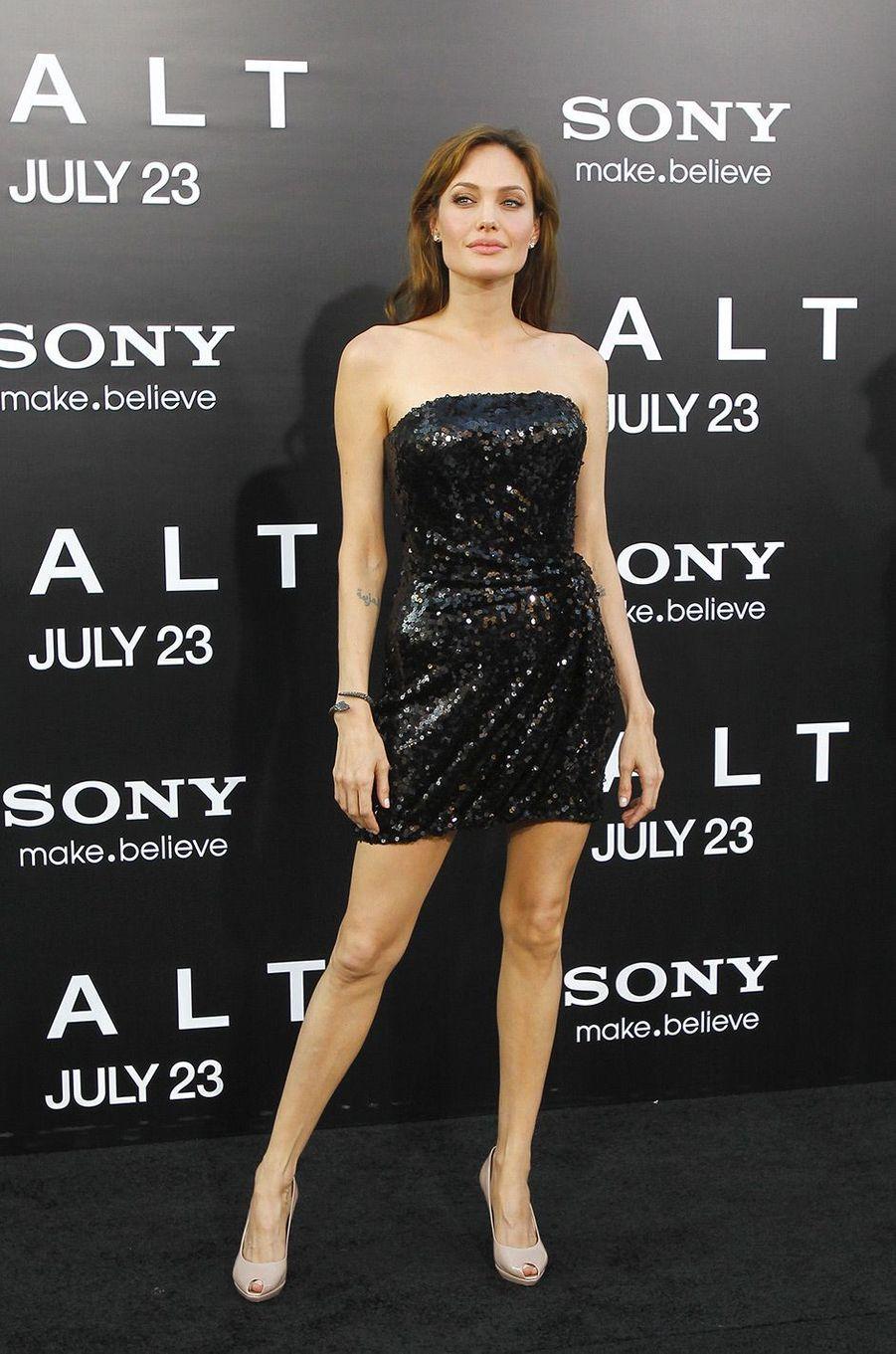 Angelina Jolie en juillet 2010